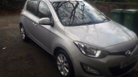 Silver Hyundai i20 (2013) Diesel 1.1L Manual 5 doors ACTIVE CRDI, £6500 ono