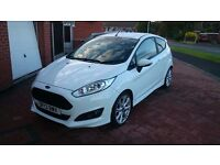 Ford Fiesta 1.0 EcoBoost Zetec S 3dr (start/stop) 125ps White