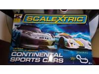 Scalextrix set.
