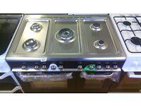 KENWOOD 2doors 90 CM Range dual Fuel single Gas Cooker new ex display