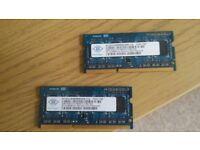 4GB DDR3 RAM sodimm laptop