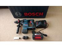 Bosch GBH 36V VF-Li Plus 4.0Ah SDS Cordless Hammer Drill
