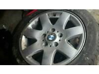 Bmw e46 spare wheel alloy