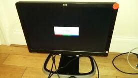 19 inch HP Monitor x 2