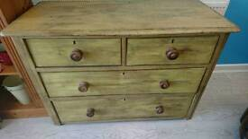 Chest of drawers £80