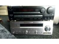 Av hifi amp and Av hifi receiver