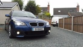BMW 520d Msport 2008 Le Mans Blue