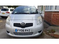 TOYOTA YARIS T3 - 1296cc Petrol, 1 Owner from new, MOT until May 2017