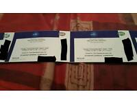 2x tickets Red hot chilie peppers O2 18.12.16 standing