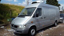 MERCEDES SPRINTER 2004 Refrigerated van only 75,000 genuine miles