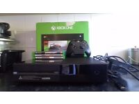Xbox One 500GB with games.