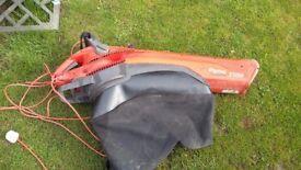 Flymo leaf blower vac