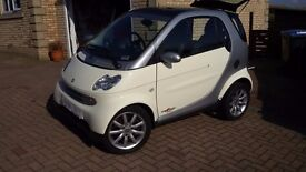 Smart Car Passion model (2006) Low miles & immaculate condition throughout.