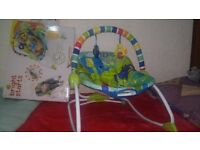 Baby bouncer ( Bright Star) hardly used