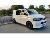 2011 VW T28 2.0 TDi 140 T5 DAY VAN, 6 SEATS, FSH, MOT AUG'17, FUNKYDUBZ, DVD, ANDROID, 89K MILES