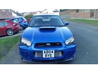 Subaru impreza sti highly modified 550bhp