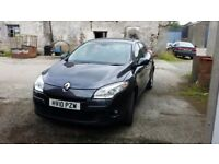 Renault Megane 2010 Very Good Condition Sale or Swap for Van! Fresh MOTed.