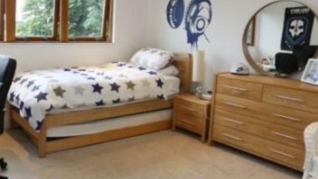 3 In 1 Wooden Single Bed From Bensons For Beds With 5 Drawer Chest And Bed Side Cabinet In Milngavie Glasgow Gumtree