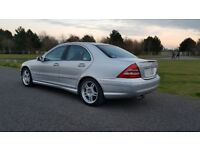 LPG CONVERTED 2003 MERCEDES - BENZ C32 AMG with FSH, HALF PRICE RUNNING COST - 354bhp SUPERCHARGER