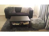 Black (dark colour) Coffee table in excellent condition