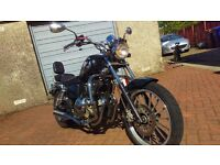 AJS DD125-E nice cruiser for first time rider, could do with some tlc