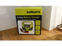 Brand new Sakura 6A Battery charger