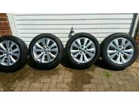 Vw golf 2014 alloy wheels .hankook tyres vgc