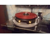 Michell GyroDec plus Michell Modified Rega Arm and Ortofon Red Cartridge