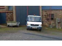 LDV 400 CONVOY DOUBLE CAB TIPPER