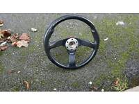 STEERING WHEEL AND SNAP OFF BOSS