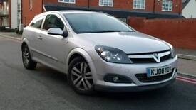 2008 Vauxhall Astra 1.4 i 16v SXI Sport hatch 3DR++Full Service History+Low Mileage+Drives Well