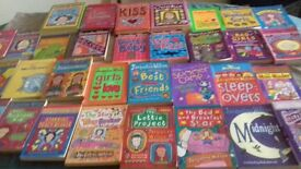 collection of Jacqueline Wilson books (34 in total)