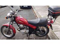 Yamaha SR125. ideal learner/commuter