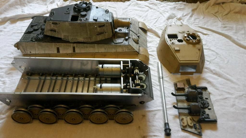 1/16 Tamiya king tiger tank | in Bulwell, Nottinghamshire | Gumtree
