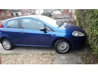 fiat grande punto 1.2 spares or repair starts and drive 280£