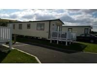 Privately owned 8 berth static caravan Doniford Bay Somerset
