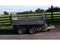 Ifor Williams tipper 8x5 mesh sides