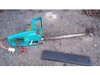 Electric chainsaw black and decker