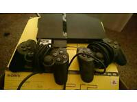 Play Station 2 console & games bundle