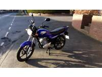125cc commuter bike,650 miles only!, Yamaha ybr 125 copy, jianshe,honda cg125,learner legal,gn125