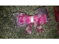 Hand made hair bows good Christmas present