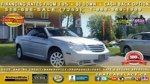 2008 Chrysler Sebring Lx-$65-Soft top convertible-Bluetooth-Dvd- London Ontario image 1
