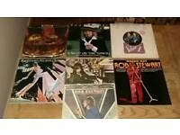 Rod Stewart record collection