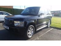 2004 range rover vogue 3.0 tdi diesel full mot immaculate condition.