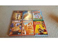 DVD's various movies