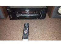 Sony STR-DB940 5.1 550W Amplifier and Sony st-93 2x100W Speakers