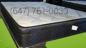 Queen High Density Foam Mattresse and Boxspring Free Delivery