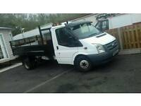 Ford transit T350 tipper