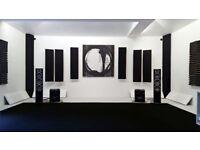 Studio & Home Theatre Corner Standard Bass Trap Panels Add-On Pack of 4