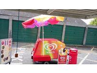 Complete ice cream cart business